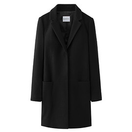 Blenheim - Wool Black Coat