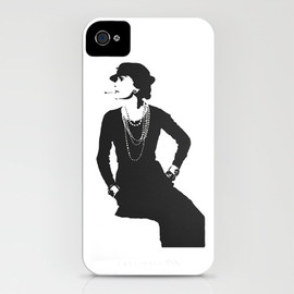 Society6 - IPHONE CASE Coco Chanel