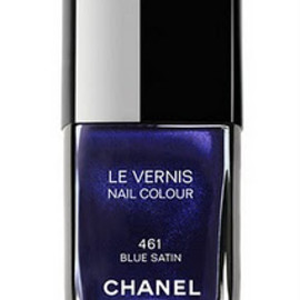 CHANEL - Le Vernis Blue Satin