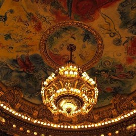Marc Chagall - Palais Garnier - Opera National de Paris: シャガールの天井画