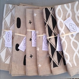 Cotton & Flax tea towels