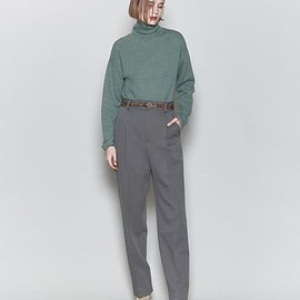 6(ROKU) - TURTLE NECK KNIT