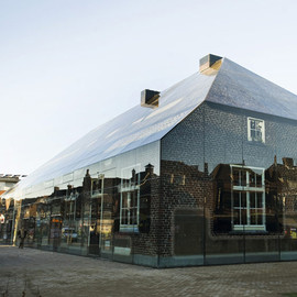 MVRDV Architects - Glass Covered Old Brick House, Schijndel, Netherlands