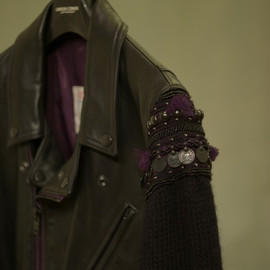 Undercoverism - 09AW Leather Biker