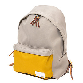 nanamica - Day Pack (Beige×Yellow)