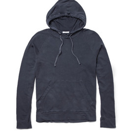 James Perse - Lightweight Loopback Cotton-Jersey Hoodie