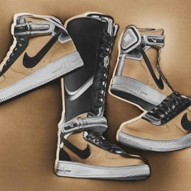 Nike - NIKE + R.T. AIR FORCE 1 BEIGE COLLECTION