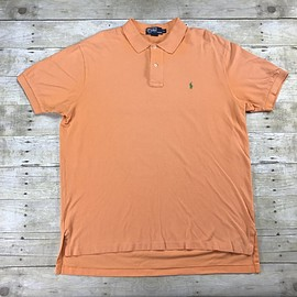 POLO RALPH LAUREN - Polo by Ralph Lauren Peach Polo Shirt Mens Size XL