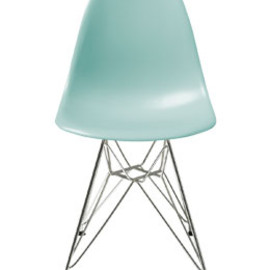 Herman Miller - Eames Shell Side Chair DSR (Aqua Sky)