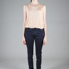 Acne - Low Waisted Trousers - Navy