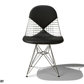 Herman Miller - Eames Wire Chair DKR-2/Leather