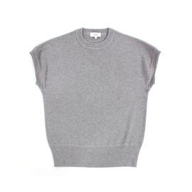 HYKE - CREW NECK NO-SLEEVE KNIT