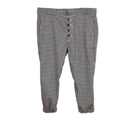 .efiLevol - Gingham Check Bontage Pants