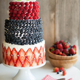 The Kitchen McCabe - A Berry Covered Birthday Cake