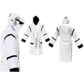 Star Wars - Stormtrooper Hooded White Cotton Bath Robe