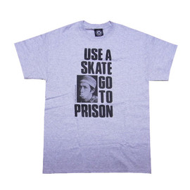 THRASHER - Use A Skate Go To Prison T-Shirt (Gray)