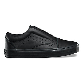 VANS - Leather UA Old Skool Laceless DX