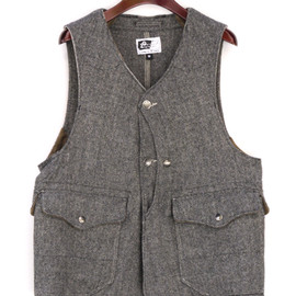 Engineered Garments - Upland Vest Tweed