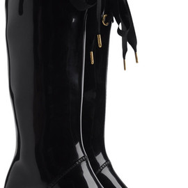 Marc By Marc Jacobs - Heeled Wellington Boots in Black