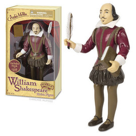 Accoutrements - William Shakespeare Action Figure
