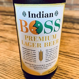 Indian BOSS - PREMIUM LAGER BEER