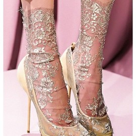 Christian Louboutin for Marchesa - Christian Louboutin for Marchesa