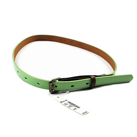 Madewell - Deadstock Madewell Patent Leather Green Belt WOMENS Size XS-S