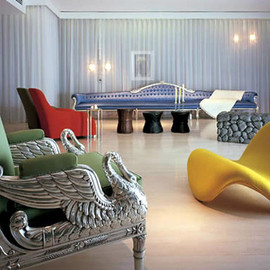 Sanderson Hotel - Philippe Starck-designed Sanderson Hotel in London