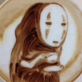 Faceless coffee... Studio ghibli