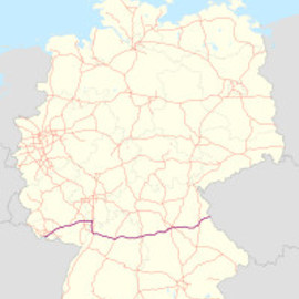Autobahn Germany - A6