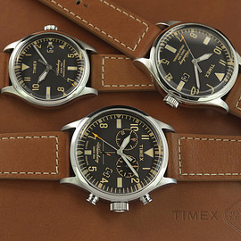 TIMEX - Waterbury RED WING SHOE LEATHER