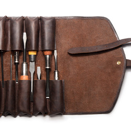 Kaufmann Mercantile - Vegetable Tanned Leather Tool Roll