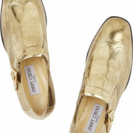 Jimmy Choo  - Metalic loafers