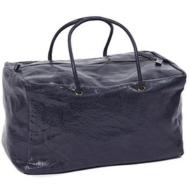 Bea Mombaers for Serax - Shoulder bag, navy - 38 x 24 x h 22 cm