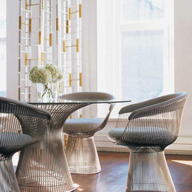 Knoll - Platner Dining Table & Platner Arm Chair