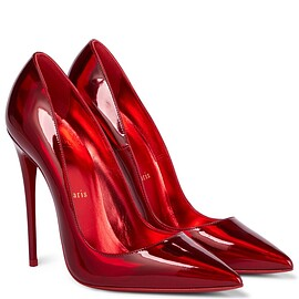 Christian Louboutin - So Kate 120 patent leather pumps