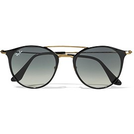 Ray-Ban - Round-frame acetate and gold-tone sunglasses