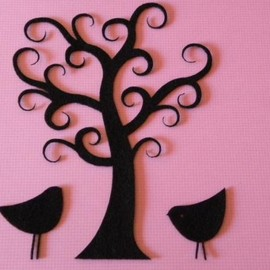 Luulla - Curly tree with birds