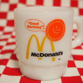 Fire King - Mc Donald's Stacking Mug #43