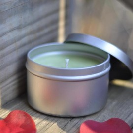Luulla - Rosemary Soy Candle 8 ounce tin, just in time for spring