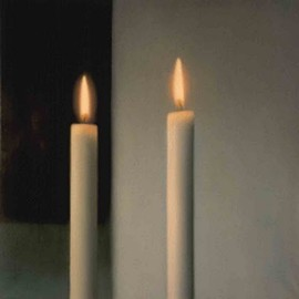 Gerhard Richter - two candles