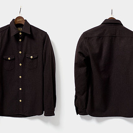 orgueil - OR-5010A Classic Work Shirt クラシックワークシャツ