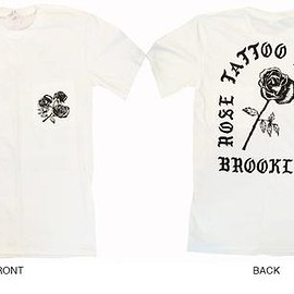 Rose Tattoo Parlour - Rose Tattoo Parlour Pocket Tee