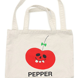 UNDERCOVER - PEPPERTOTEBAG(トートバッグ)KNR277-002084-010x【新品】
