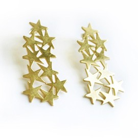 Aliki S - Star Earrings