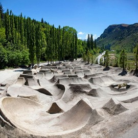 Queenstown, New Zealand - 'Gorge Road Dirt Jump Park'