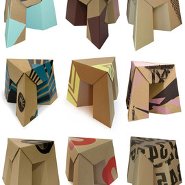 Paper Tiger Products - Paper Tiger Stool