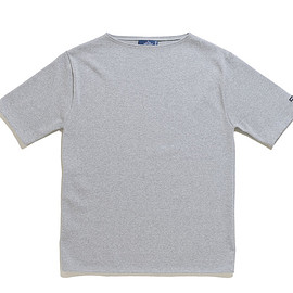 SAINT JAMES - Ouessant Short Sleeve Shirts-Gris