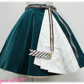 Angelic Pretty - Bookmark Skirt (Green)