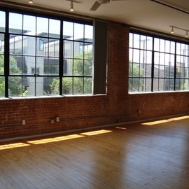 Warehouse loft and windows